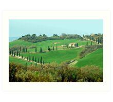 Toscana - Italy Art Print