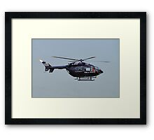 Fire And Rescue From The Skies Framed Print