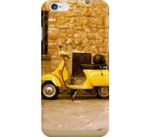 italian transportation iPhone Case/Skin
