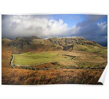 Lake District Landscape Poster