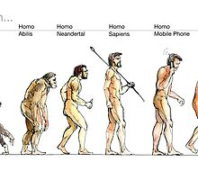 Evolution... by Luca Massone  disegni
