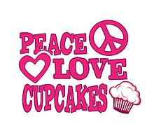 Peace Love and Cupcakes by alauraco