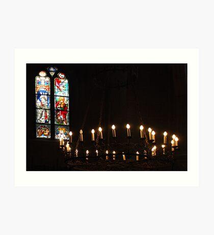 Lausanne Cathedral - Switzerland Art Print