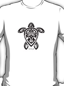Black Tribal Turtle Tattoo / Maui T-Shirt