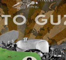 moto guzzi v8 historic bike Sticker