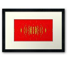 Blood butterfly Framed Print