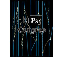 El Psy Congroo- Steins;Gate Photographic Print