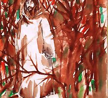 Christ in the Forest by Seth  Weaver