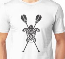 Tribal Turtle 2 Stand-Up / Maui Unisex T-Shirt
