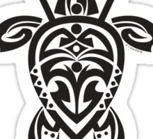 Tribal Turtle 2 Stand-Up / Maui Sticker