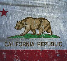 California Republic Flag Jeans  by NorCal