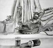 Pencil Still Life by sgrixti
