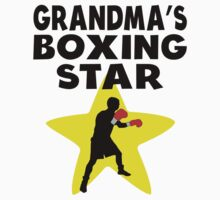 Grandma's Boxing Star One Piece - Short Sleeve