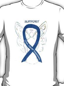 Colon Cancer Ribbon  T-Shirt