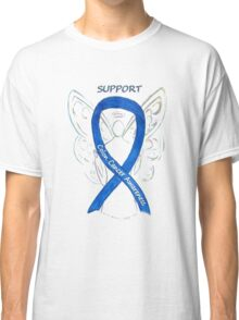 Colon Cancer Ribbon  Classic T-Shirt