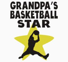 Grandpa's Basketball Star One Piece - Short Sleeve