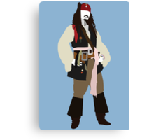 Jack Sparrow - Pirates of the Caribbean Canvas Print
