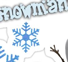 Frozen - Do You Wanna Build A Snowman? Sticker