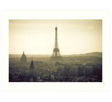 Dream of Paris Art Print