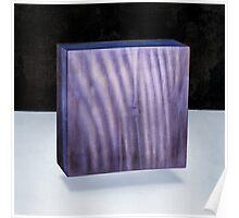 Purple Square 3D Poster