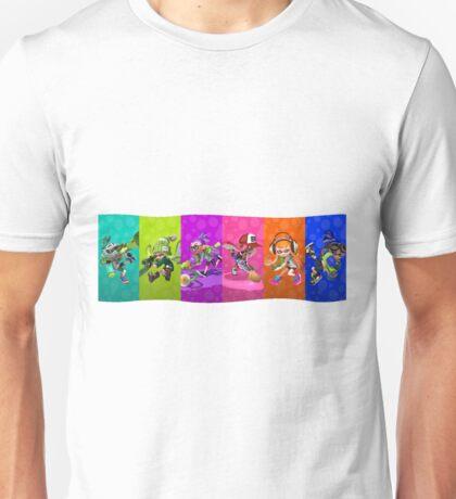 Splatoon's Team Battle Unisex T-Shirt