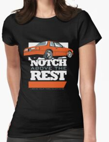 Notch Above the Rest Womens Fitted T-Shirt