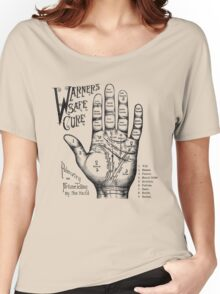 Palmreading - Vintage palmistry - Fortunetelling - NewAge - Tarot - Psychic Women's Relaxed Fit T-Shirt