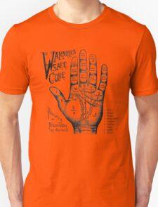 Palmreading - Vintage palmistry - Fortunetelling - NewAge - Tarot - Psychic T-Shirt