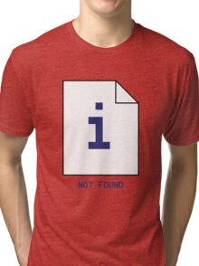 Error Not Found Tri-blend T-Shirt