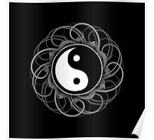 Yin Yang Print Poster