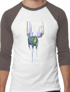 Moose Drip Trip Men's Baseball ¾ T-Shirt