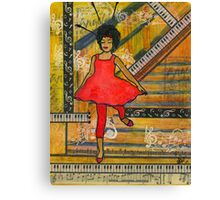 Happiness is Spelled D-A-N-C-I-N-G Canvas Print