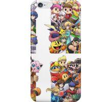 Super Smash Bros. WiiU and 3Ds + Ryu iPhone Case/Skin