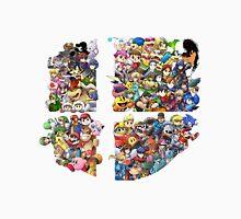 Super Smash Bros. WiiU and 3Ds + Ryu T-Shirt