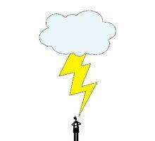 Struck by Lightning by LexyDC