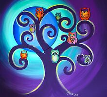 Owl Sweet Family by Agata Lindquist