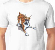 Brindle Boxer Wanna Play Unisex T-Shirt