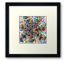 heptagonal transformation stage seven Framed Print