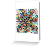 heptagonal transformation stage seven Greeting Card