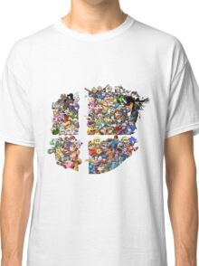 Super Smash Bros. 4 Ever + All DLC Classic T-Shirt