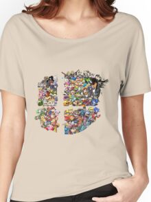 Super Smash Bros. 4 Ever + All DLC Women's Relaxed Fit T-Shirt