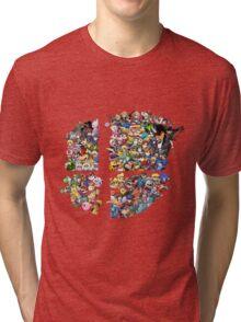Super Smash Bros. 4 Ever + All DLC Tri-blend T-Shirt