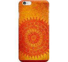 Rangoli: Eastern Traditional Motif iPhone Case/Skin