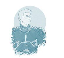 Raleigh, Gypsy Danger Pilot (Blue) Photographic Print