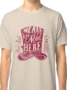 Mad Cat's Hat  Classic T-Shirt