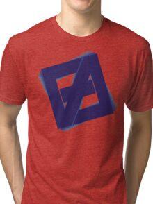 Free fall Blue Tri-blend T-Shirt