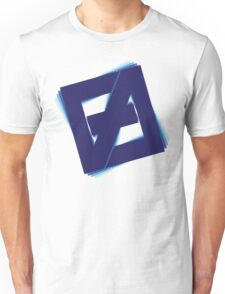 Free fall Blue Unisex T-Shirt