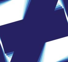 Free fall Blue Sticker