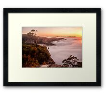 Blackheath dawn Framed Print
