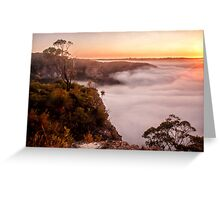 Blackheath dawn Greeting Card